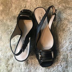 💋Anne Klein leather sandals 💋